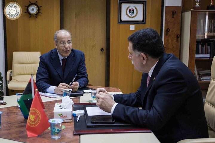 إجتماع محافظ مصرف ليبيا المركزي بالمجلس الرئاسي