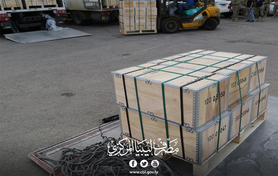 خمسون مليون دينار لفرع إدارة الإصدار بمصرف ليبيا المركزي بمصراته