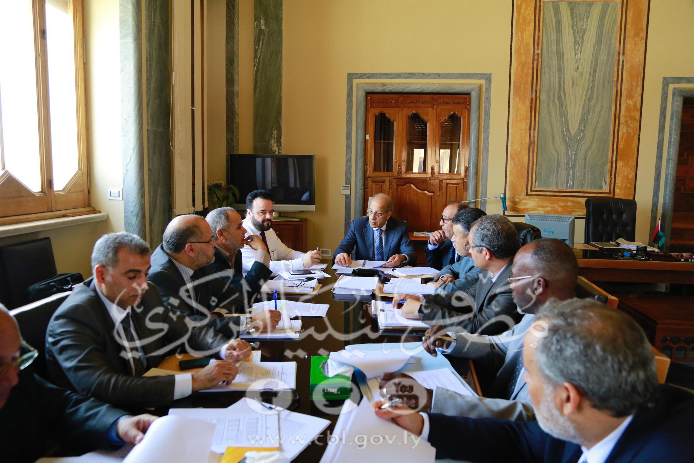 مصرف ليبيا المركزي يشرع في إعداد ردوده على ما جاء في تقرير ديوان المحاسبة عن العام 2017