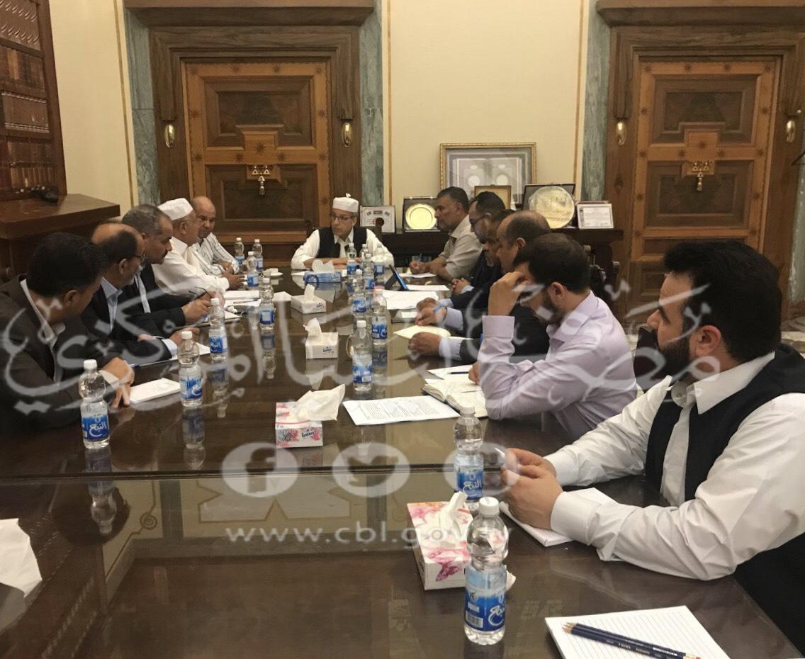 وضع الإطار العملي لإجراءات الإصلاح الاقتصادي في اجتماع موسّع بمصرف ليبيا المركزي