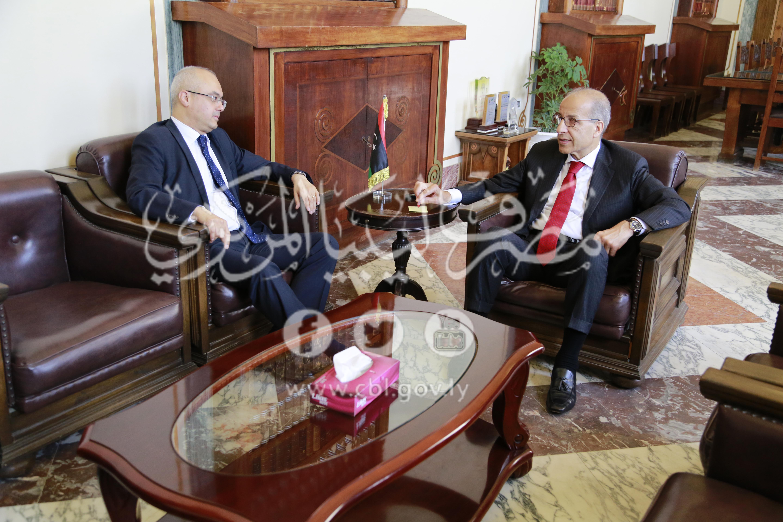 المحافظ يستقبل سفير جمهورية تركيا لدى ليبيا