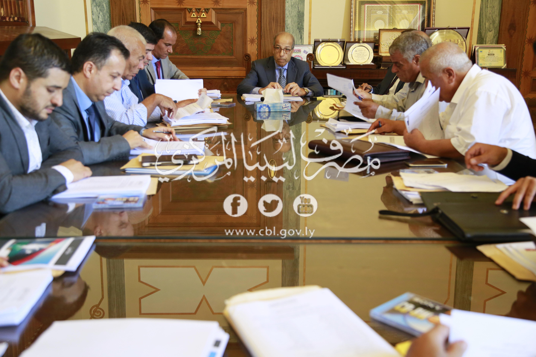 اللجنة الوطنية لمكافحة غسل الأموال وتمويل الإرهاب تعقد اجتماعها العادي الثاني2018