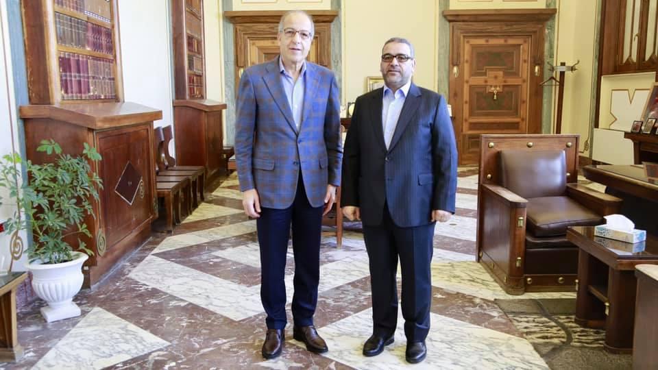 في إطار مُتابعة الأوضـــاع، المحافظ يلتقي رئيس المجلس الأعلى للدولة