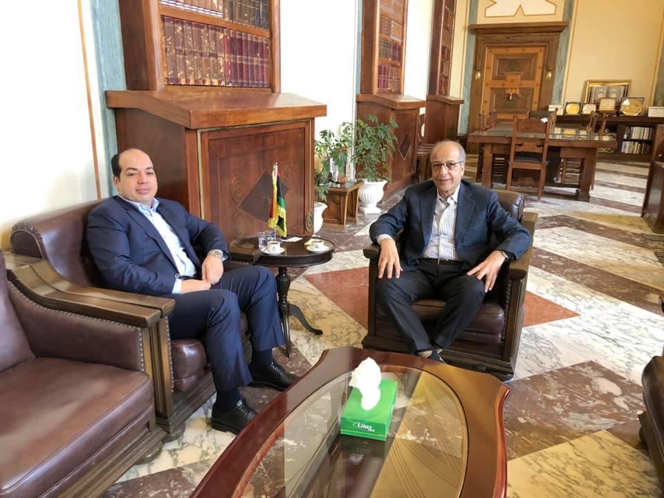 في إطار مُتابعة الوضع العام المحافظ يلتقي نائب رئيس المجلس الرئاسي