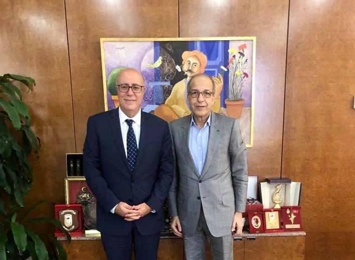 المحافظ يلتقي بمحافظ البنك المركـزي التونسي