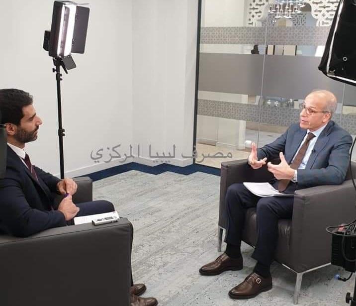 مقابلة السيد المحافظ مع وكالة رويترز