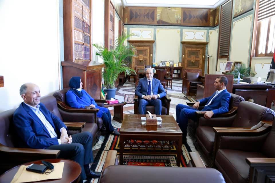 لقاء مُحافظ مصرف ليبيا المركزي بالسادة أعضاء مجلس النوّاب